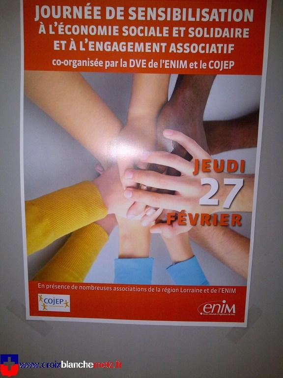 Stand de promotion ENIM 27-02-2014