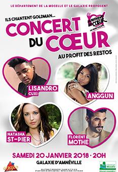 Concert du coeur 2018